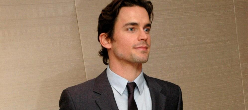 """Matt at """"White Collar"""" Press Conference"""