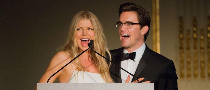 Matt Bomer attends amfAR Inspiration Gala New York 2014