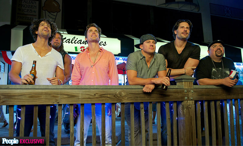 Magic Mike XXL Featured on People Magazine