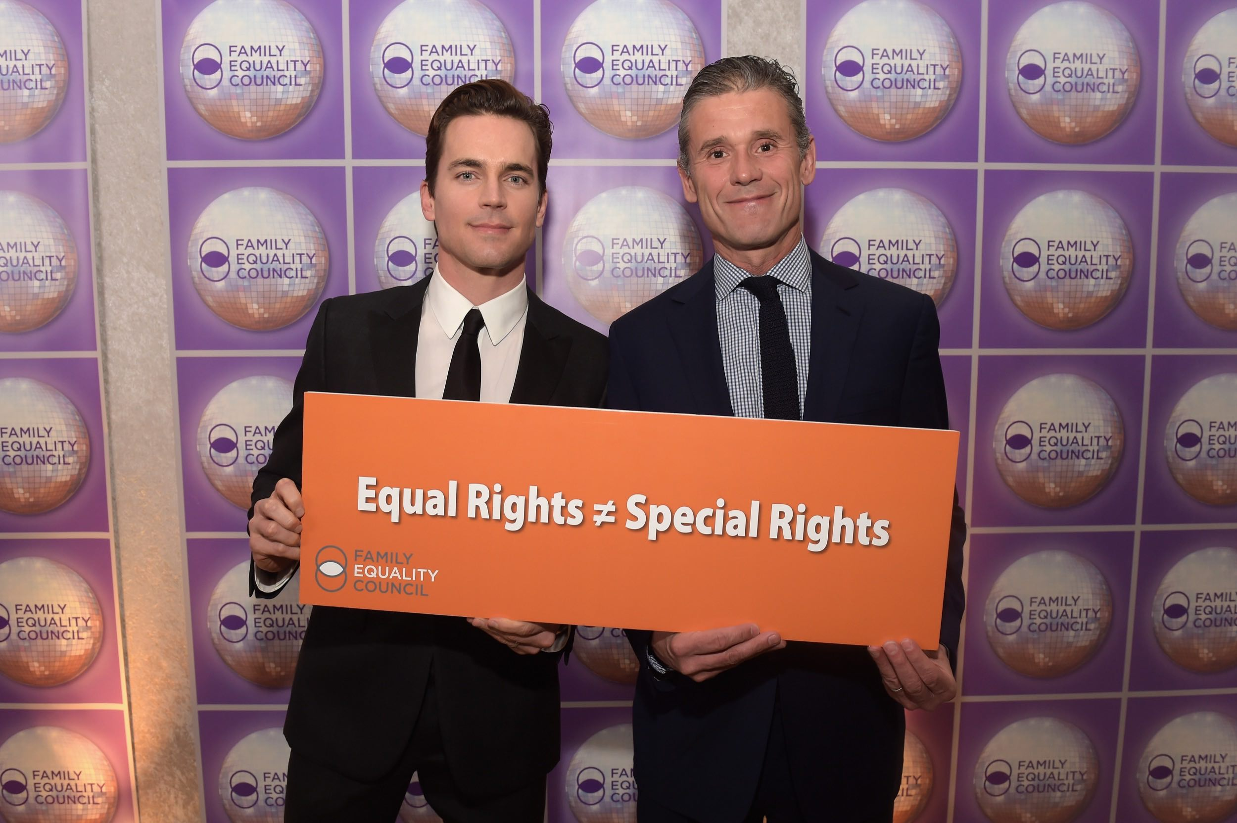 Matt attends Family Equality Council Dinner