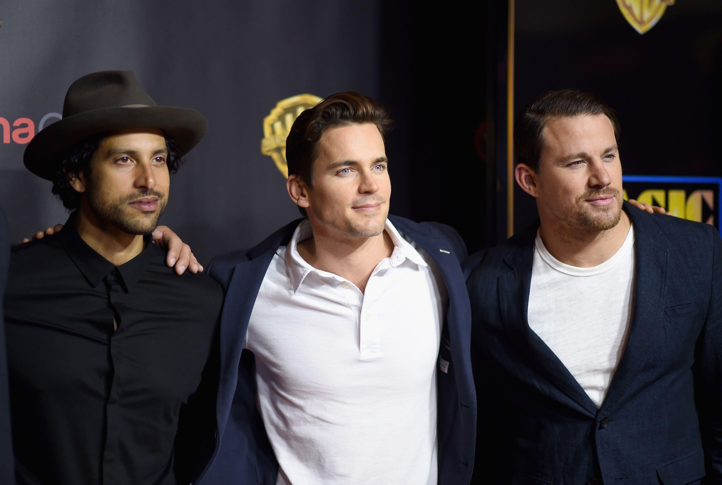 Matt attends Warner Bros. Cinemacon