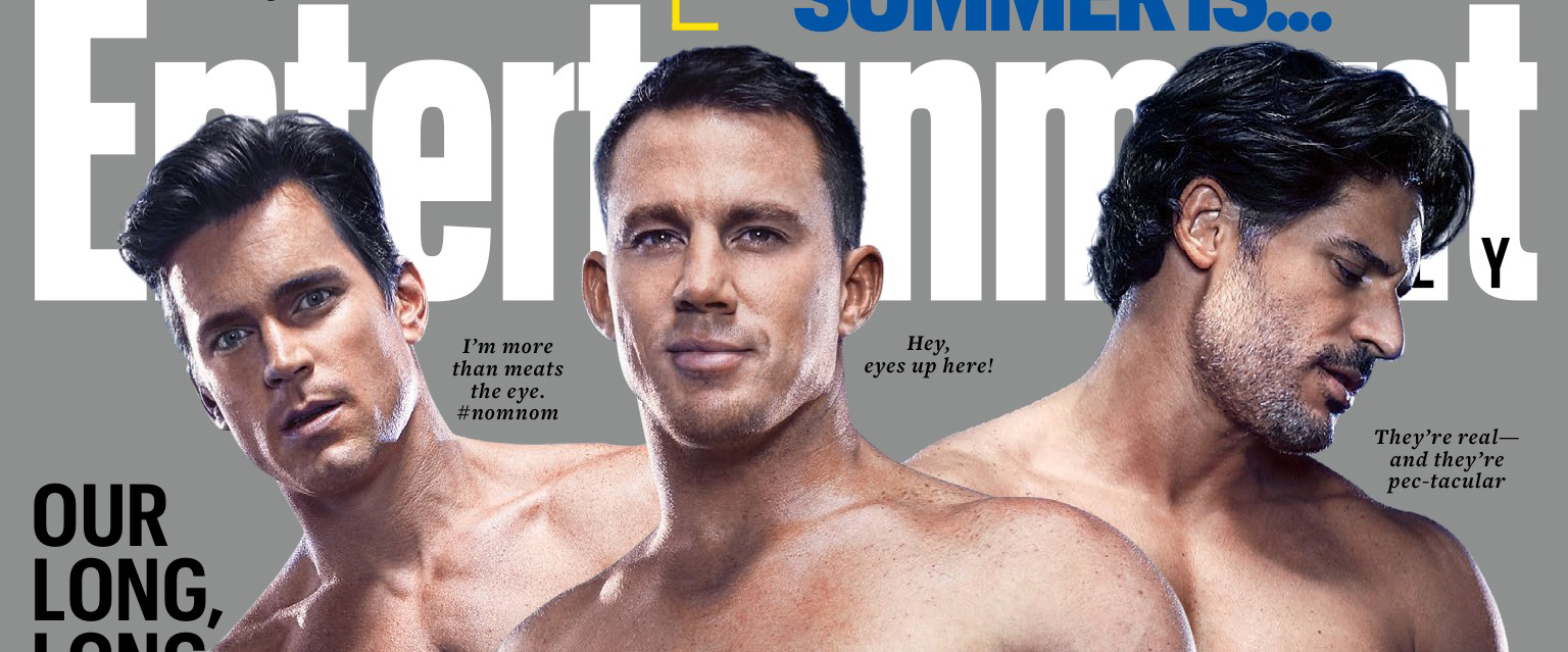 Magic Mike XXL Covers Entertainment Weekly