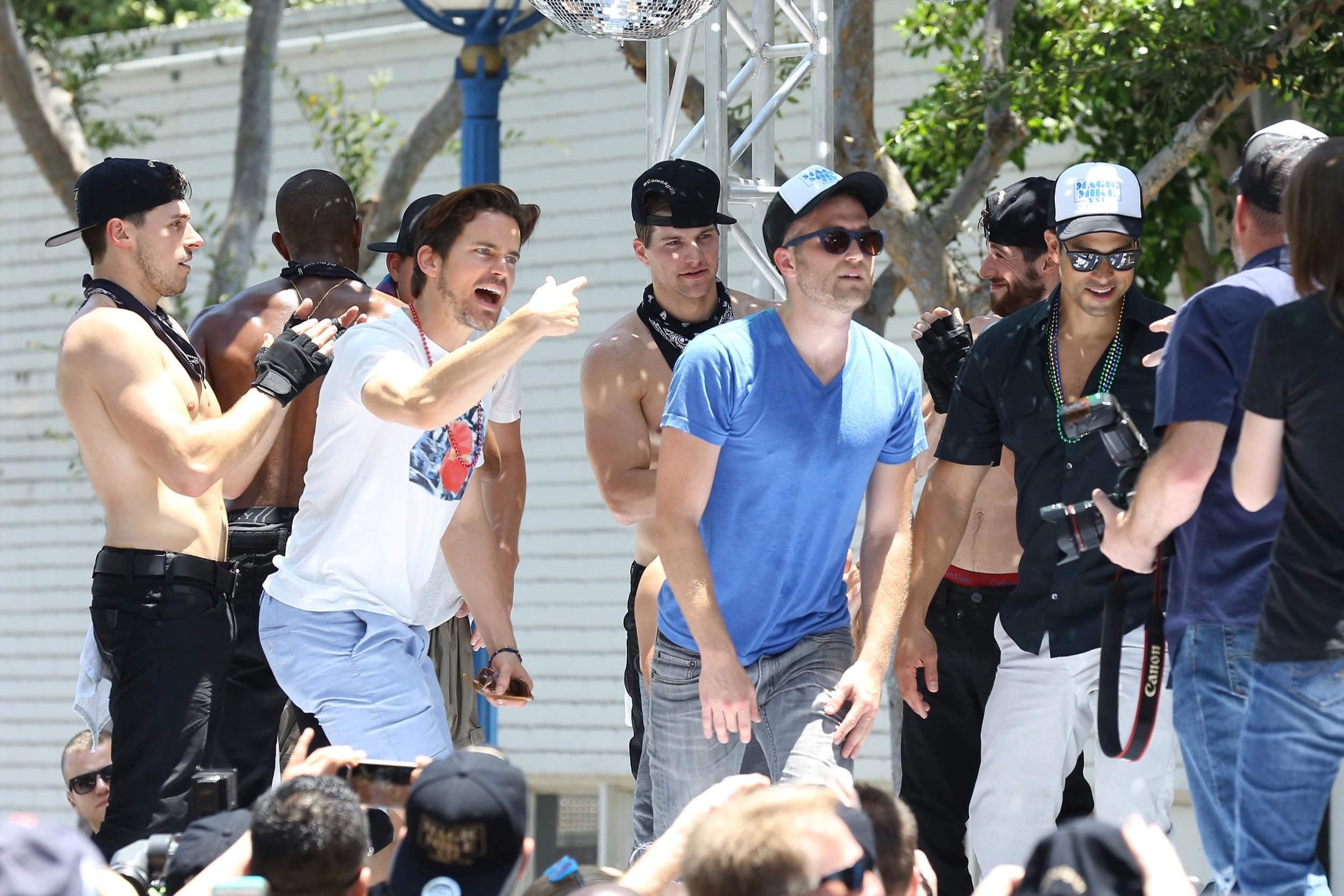 Magic Mike XXL at LA Gay Pride Parade