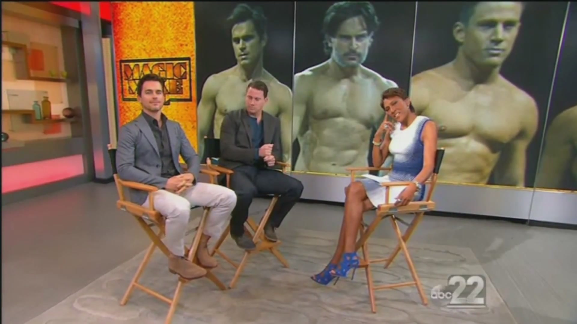 Matt Bomer and Channing Tatum Talk 'Magic Mike XXL' on GMA