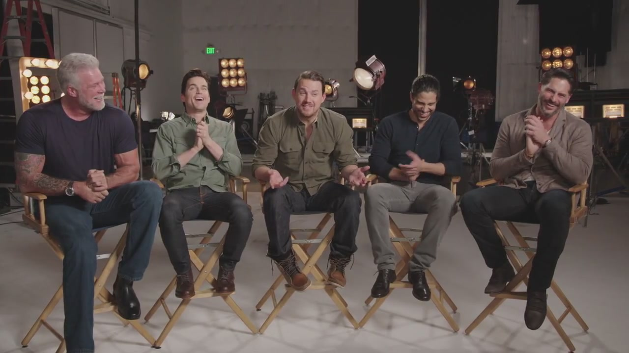 Magic Mike XXL: Cast Behind the Scenes Interview