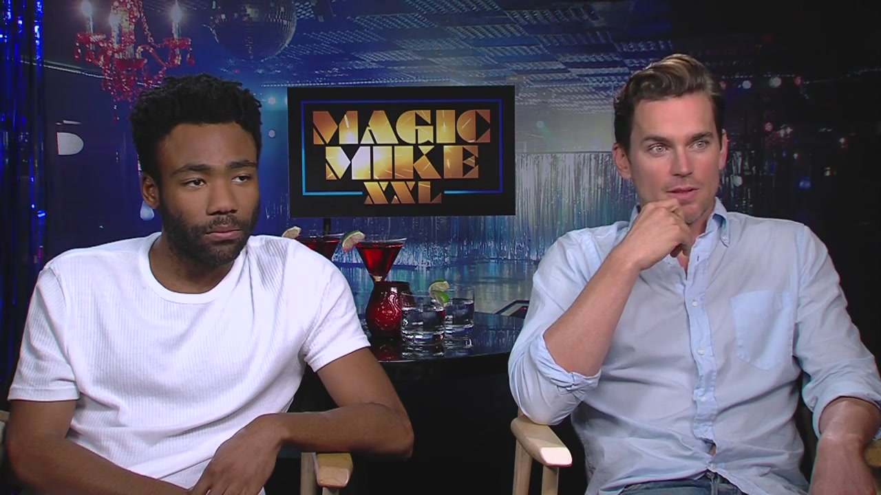 Matt Bomer and Donald Glover Interview to Flicks and The City