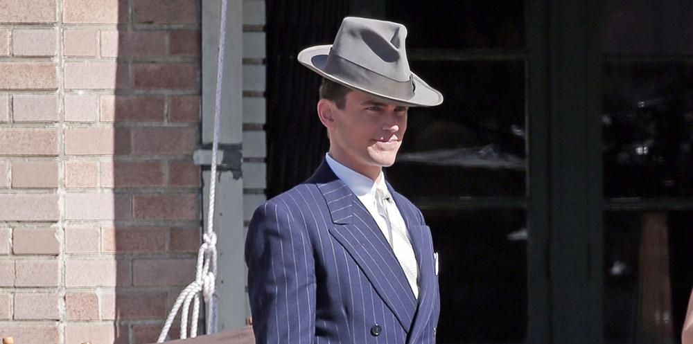 """Matt on set of """"The Last Tycoon"""""""