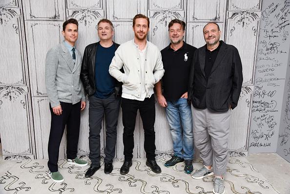"Ryan Gosling, Russell Crowe, Matt Bomer, Shane Black, & Joel Silver On ""The Nice Guys""| AOL BUILD"