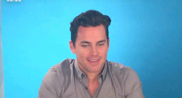 Matt Bomer on BuzzFeed Snapchat