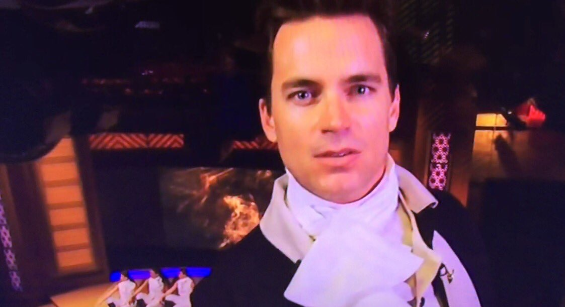 Matt Bomer sings Hamilton on 'Live with Kelly' Halloween Spoof
