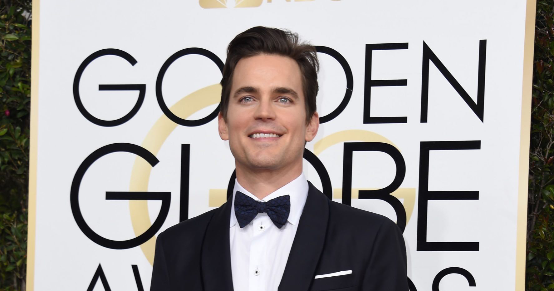 Matt attends the 74th Annual Golden Globe Awards