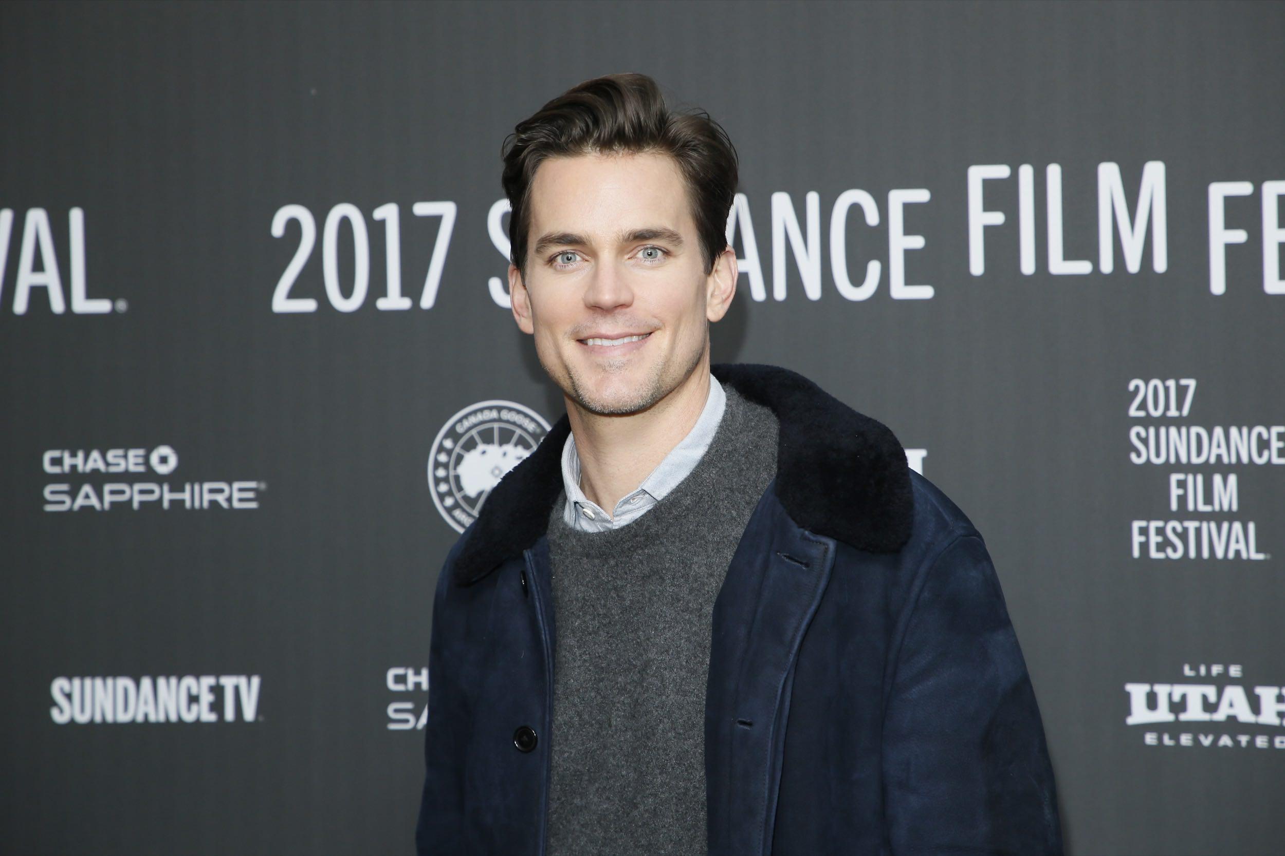 Matt Promotes 'Walking Out' On Sundance Festival