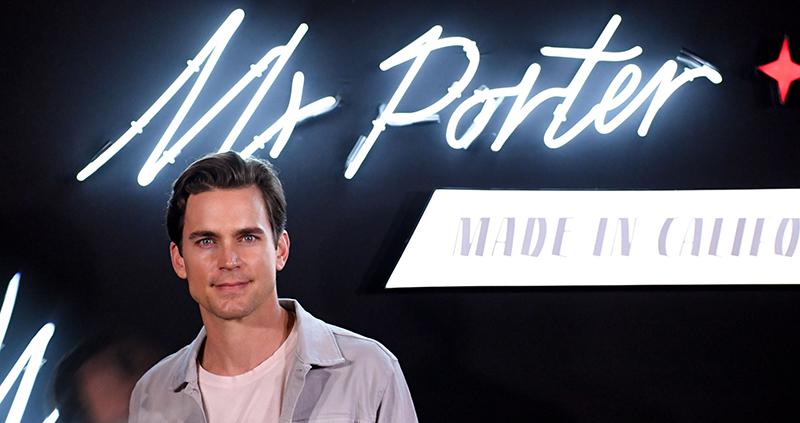 Matt attends 'Mr Porter' Launch in Los Angeles