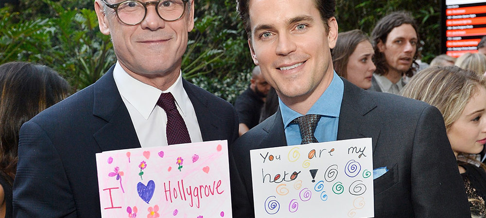 Matt Bomer & Simon Halls Honored at Norma Jean Gala