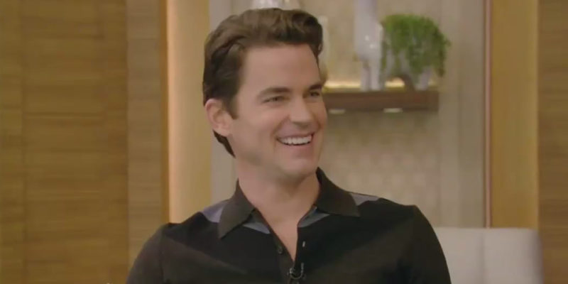 Matt Visits Live with Kelly and Ryan