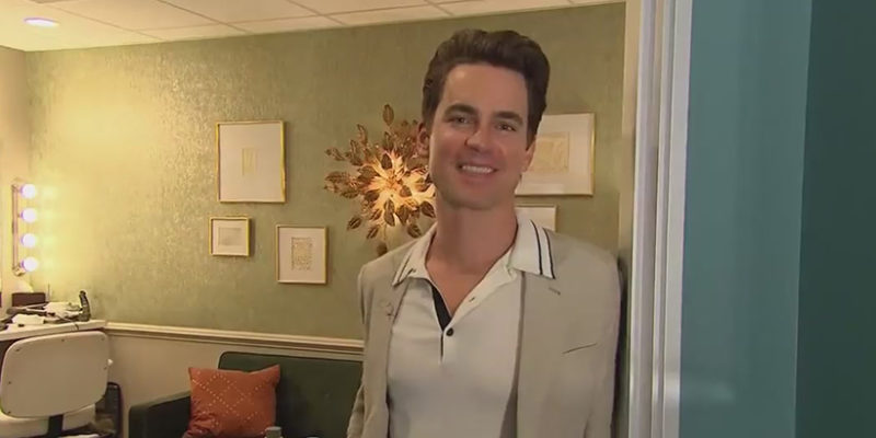 "Matt Bomer visits ""The Late Late Show with James Corden"""