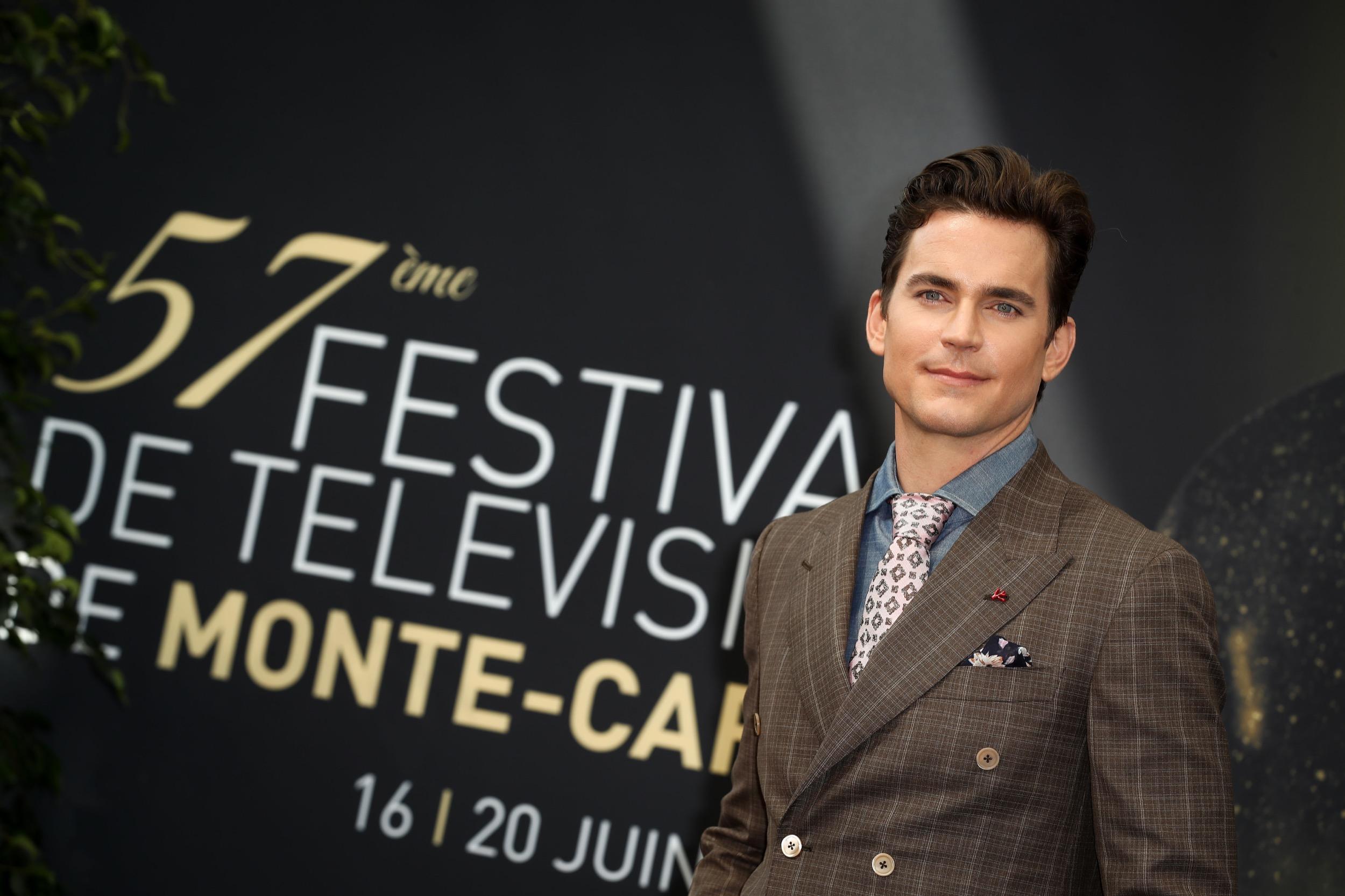 "Matt promotes ""The Last Tycoon"" in Monte Carlo Festival"