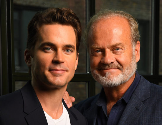 """Matt Bomer and Kelsey Grammer talks """"The Last Tycoon"""" to USA Today"""