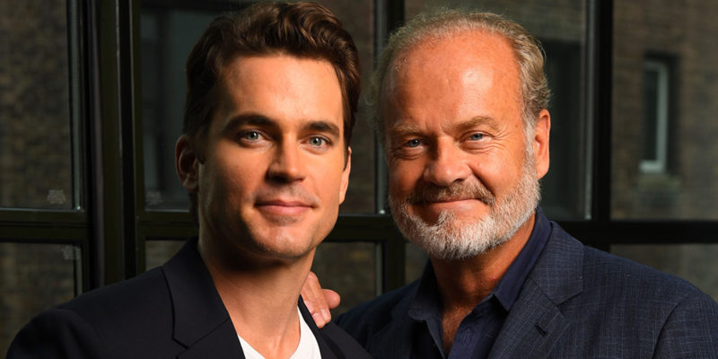 "Matt Bomer and Kelsey Grammer talks ""The Last Tycoon"" to USA Today"