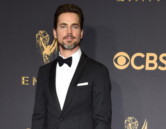 Matt Attends the Emmy Awards