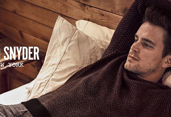 "Matt Bomer Stars New ""Todd Snyder"" Fall Campaign"
