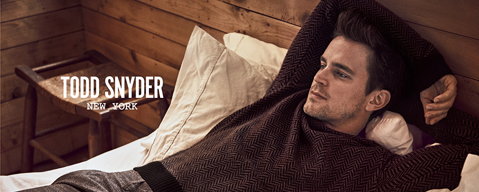 "Matt Bomer Stars New ""Todd Snyder"" Fall Campaign"