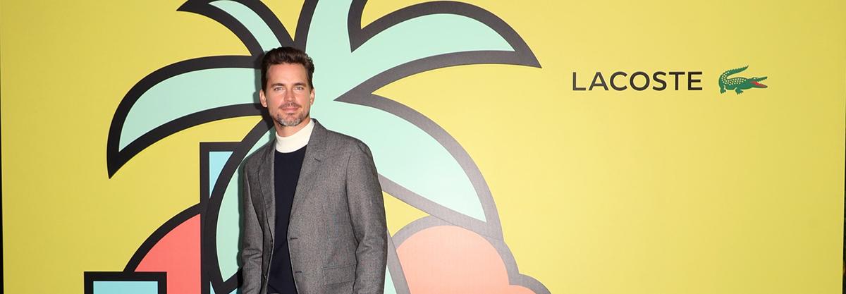 Matt attends 'Lacoste' celebration in Los Angeles