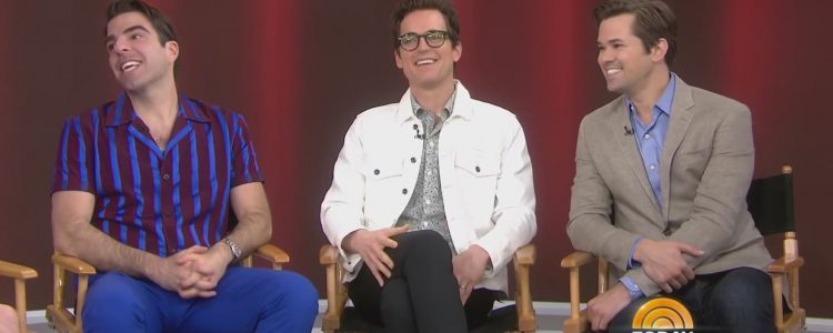Matt Bomer, Zachary Quinto and Andrew Rannells talks 'Boys in the Band' on Today Show